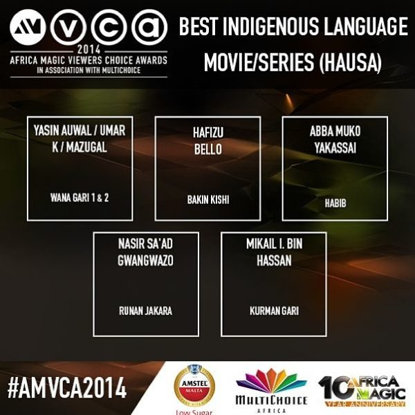 2014 AMVCA - Best Indigenous Movie Language Hausa - December 2013 - BellaNaija