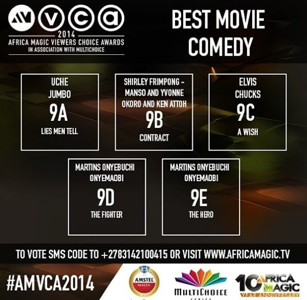 2014 AMVCA - Best Movie Comedy - Decemeber 2013 - BellaNaija