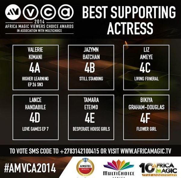 2014 AMVCA - Best Supporting Actress - Decemeber 2013 - BellaNaija