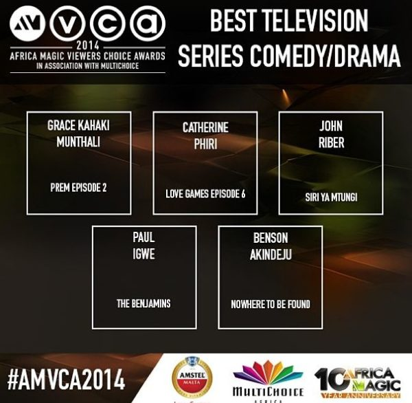 2014 AMVCA - Best Television Series - Decemeber 2013 - BellaNaija