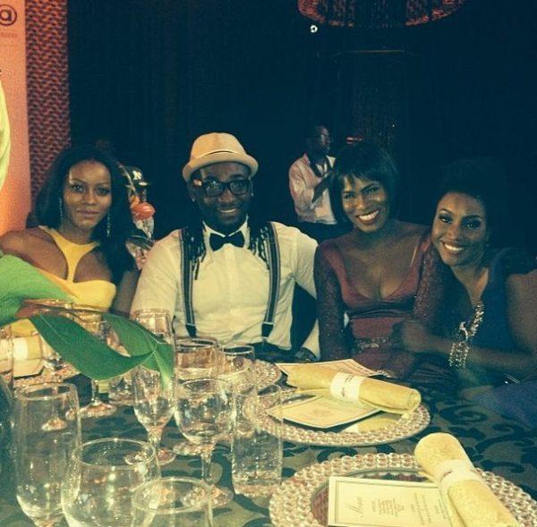 """Damilola Adegbite, Gbenro Ajibade, Yvonne """"Vixen"""" Ekwere & Isio Wanogho"""