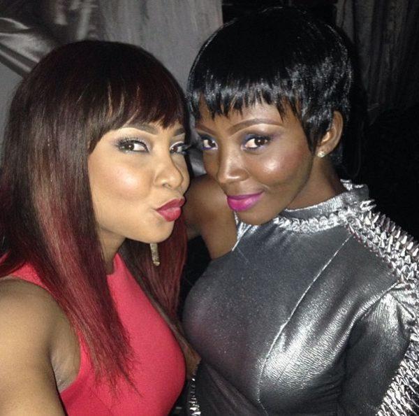Linda Ejiofor & Ivie Okujaiye