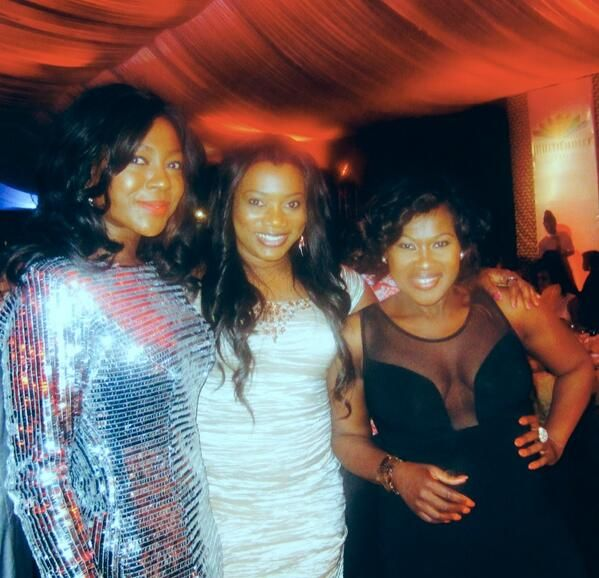 Susan Peters, Julie Odia & Uche Jombo