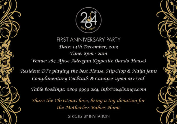 284 Bar & Lounge's 1st Year Anniversary Party - December 2013 - BellaNaija