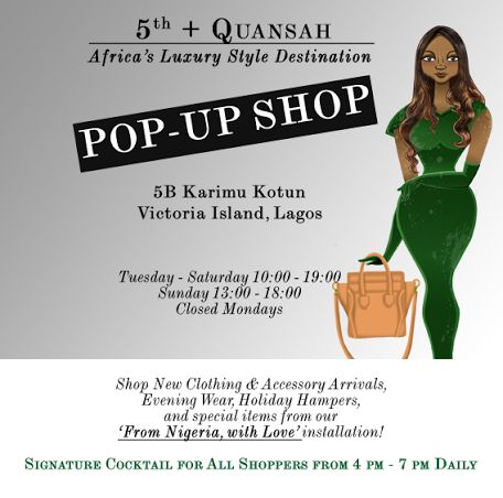 5th + Quansah Pop Up Store - BellaNaija - December 2013