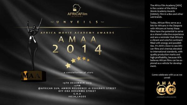 AMAA 2014 - December 2013 - BellaNaija