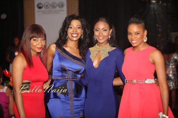 Linda Ejiofor, Biola Alabi, Osas Ighodaro & Matilda Obaseki-Mozia