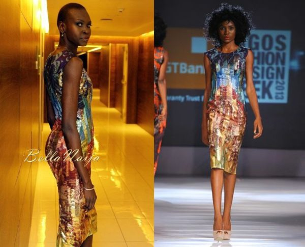 Alek Wek in Lanre DaSilva Ajayi - December 2013 - BellaNaija Style - BellaNaija