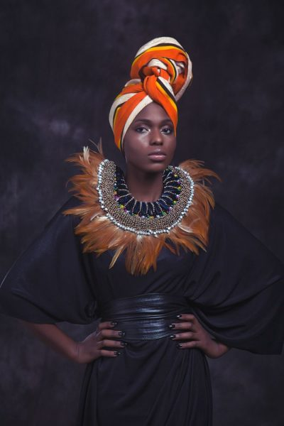 Anita Quansah London Silhouette of Power Collection Lookbook - BellaNaija - December2013004