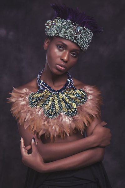 Anita Quansah London Silhouette of Power Collection Lookbook - BellaNaija - December2013006