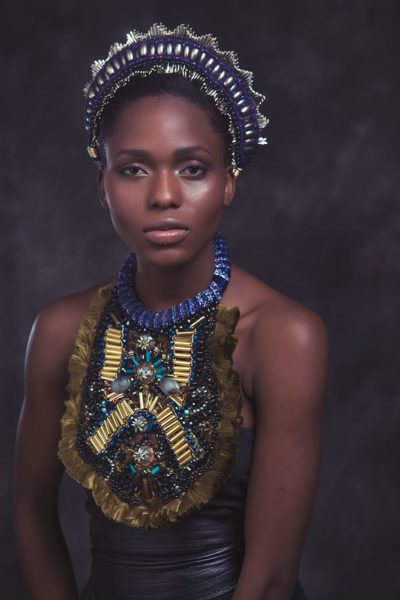 Anita Quansah London Silhouette of Power Collection Lookbook - BellaNaija - December2013007