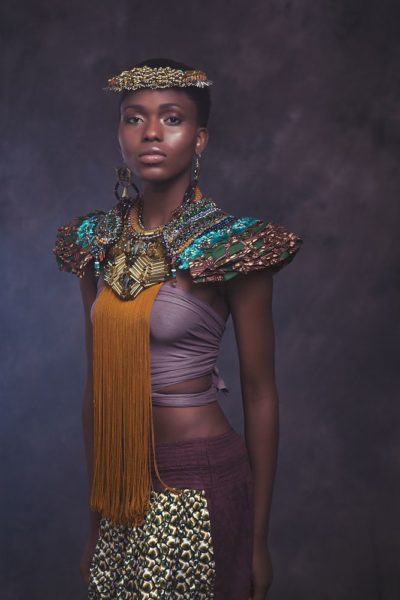 Anita Quansah London Silhouette of Power Collection Lookbook - BellaNaija - December2013011