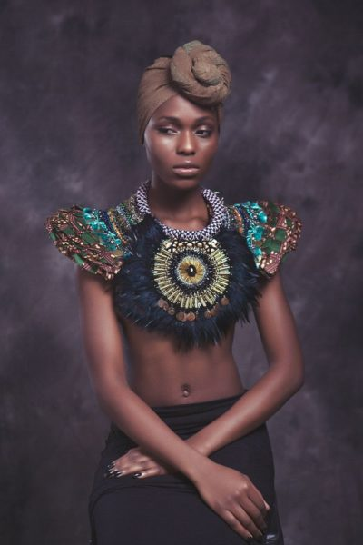 Anita Quansah London Silhouette of Power Collection Lookbook - BellaNaija - December2013012