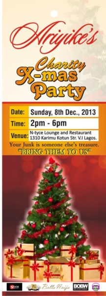 Ariyike's Xmas Party - December 2013 - BellaNaija