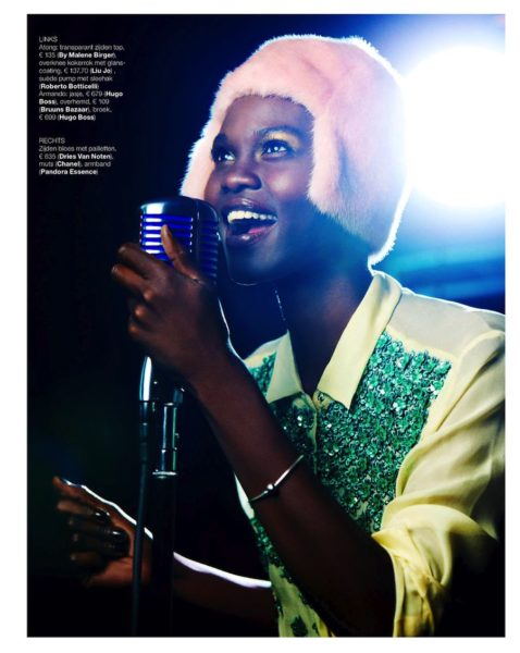 Atong Ajork for Marie Claire Netherlands Jazz It Up feature - BellaNaija - December2013002