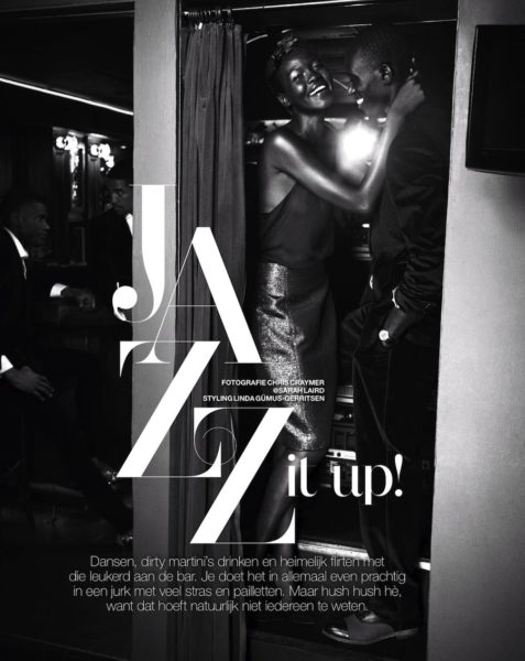 Atong Ajork for Marie Claire Netherlands Jazz It Up feature - BellaNaija - December2013004