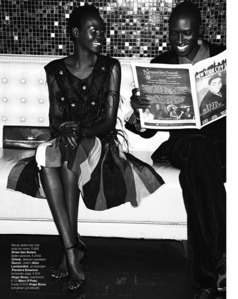 Atong Ajork for Marie Claire Netherlands Jazz It Up feature - BellaNaija - December2013008