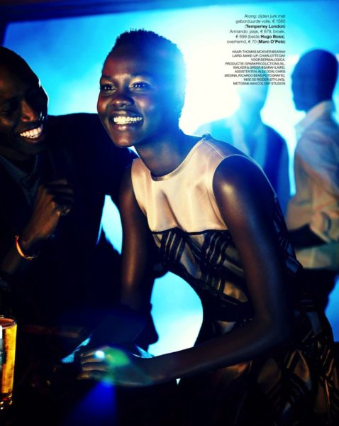 Atong Ajork for Marie Claire Netherlands Jazz It Up feature - BellaNaija - December2013011