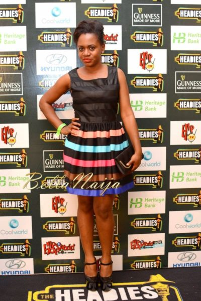 BN Red Carpet Fab - The Headies 2013 - December 2013 - BellaNaija - 081