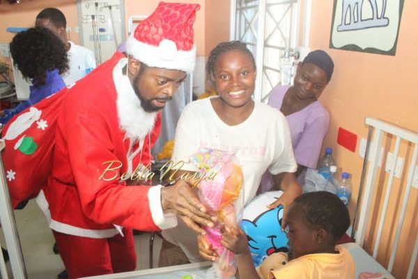 Basketmouth as Santa Claus - December 2013 - BellaNaija - 021