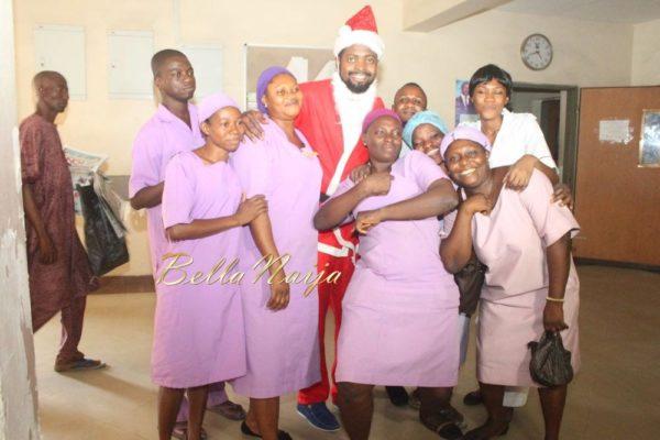 Basketmouth as Santa Claus - December 2013 - BellaNaija - 025