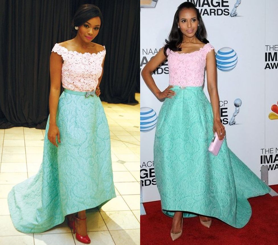 BN Pick Your Fave: Bonang Matheba & Kerry Washington in Oscar de la ...