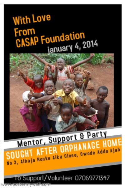 CASAP Foundation - BellaNaija - December2013 001