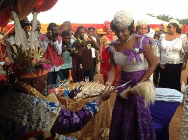 Chika Ike Conferred with Chieftaincy Title- December 2013 - BellaNaija - 027