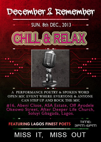 Chill & Relax - December 2013 - BellaNaija