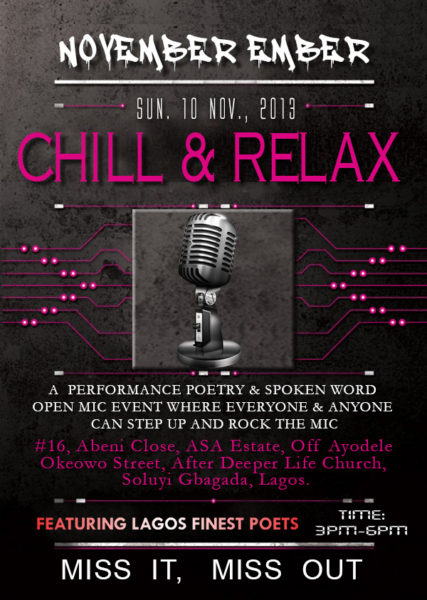 Chill & Relax - November 2013 - BellaNaija