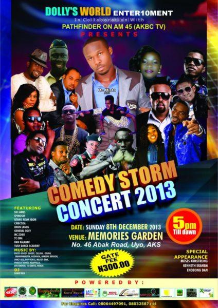Comedy Storm Concert 2013