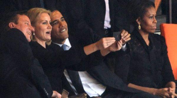 David Cameron, President Barack Obama, Michelle Obama - December 2013 - BellaNaija