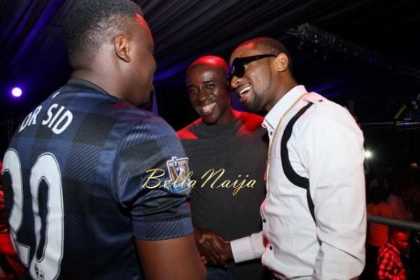 D'banj & Genevieve Nnaji at Club Ultimate - December 2013 - BellaNaija - 022