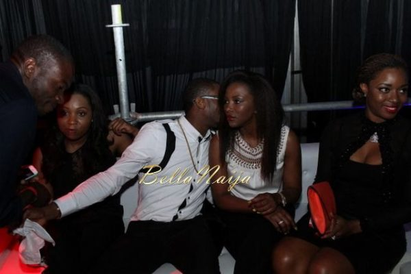 D'banj & Genevieve Nnaji at Club Ultimate - December 2013 - BellaNaija - 025