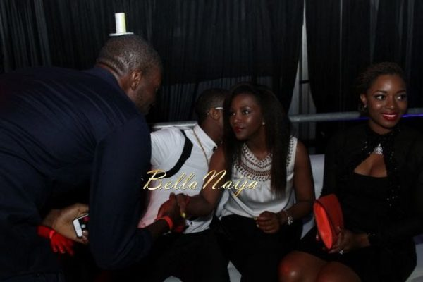D'banj & Genevieve Nnaji at Club Ultimate - December 2013 - BellaNaija - 026