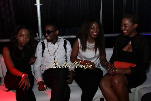 D'banj & Genevieve Nnaji at Club Ultimate - December 2013 - BellaNaija - 027