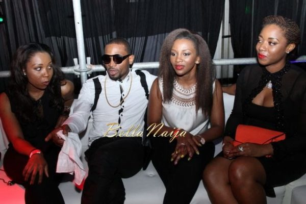 D'banj & Genevieve Nnaji at Club Ultimate - December 2013 - BellaNaija - 028
