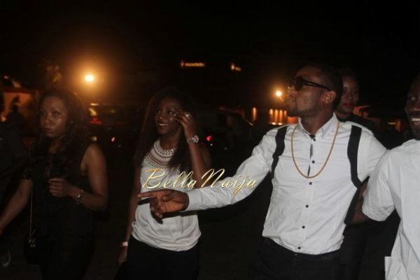 D'banj & Genevieve Nnaji at Club Ultimate - December 2013 - BellaNaija - 029