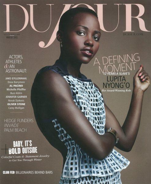 DuJour Magazine Lupita Nyong'o December 2013 Cover - BellaNaija - December 2013