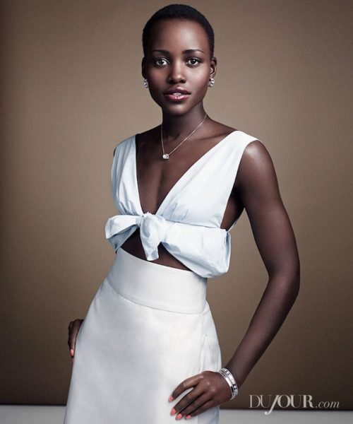 DuJour Magazine Lupita Nyong'o December 2013 Cover - BellaNaija - December 2013005