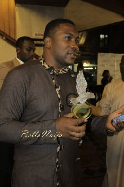 Elvis Chucks wins Nigeria Integrity Film Awards - December 2013 - BellaNaija - 023