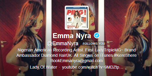 Emma Nyra - Decmber 2013 - BellaNaija