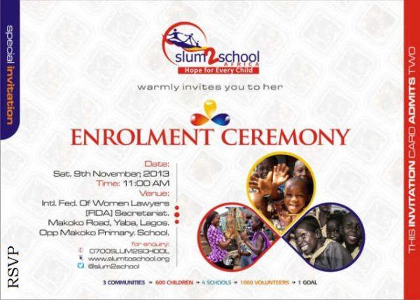 Enrolment Ceremony