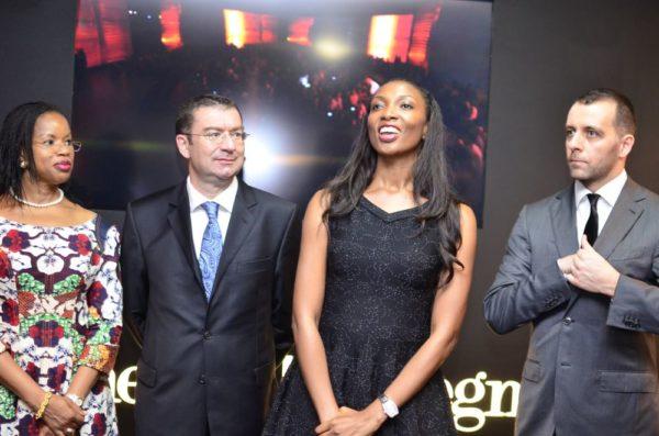 Hon Comm Sola Oworu, H.E. Roberto Colamine (Ambassador of Italy to Nigeria), Tope Edu & Claudio Devizzi (Ermenegildo Zegna - Wholesale Director, EEMEA)