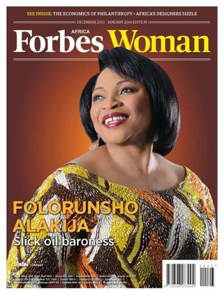 Folorunsho Alakija - December 2013 - Forbes Africa - BellaNaija