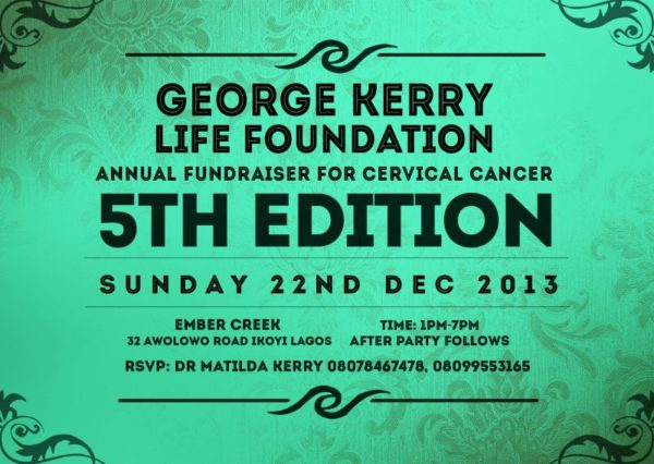George Kerry Life Foundation - BellaNaija - December 2013