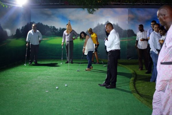Glenmorangie Golf Bar Launch  - BellaNaija - December2013022