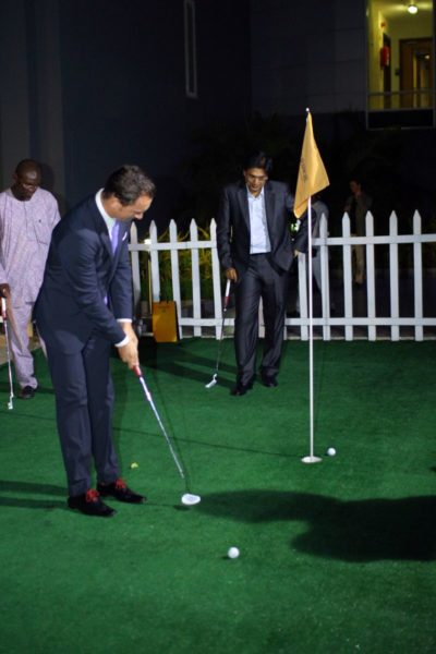 Glenmorangie Golf Bar Launch  - BellaNaija - December2013035