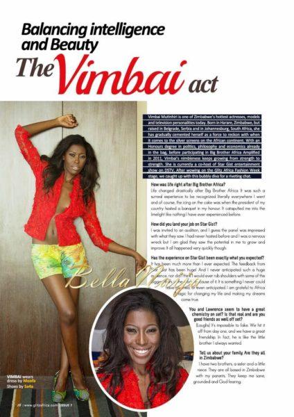 Glitz Africa Magazine's The Fashionista Issue - December 2013 - BellaNaija - 025