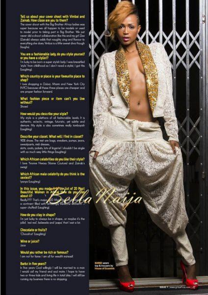 Glitz Africa Magazine's The Fashionista Issue - December 2013 - BellaNaija - 026